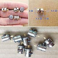 Stepper Motor con Engranaje de Cobre Mini Micro Pequeño 2-phase 4-Step