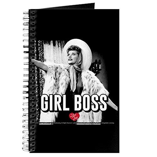 CafePress - I Love Lucy Girl Boss - Spiralgebundenes Tagebuch, persönliches Tagebuch, Punktraster