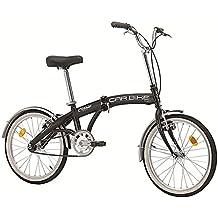 Bicicletta CARBIKE pieghevole di Cicli Cinzia Nero Opaco