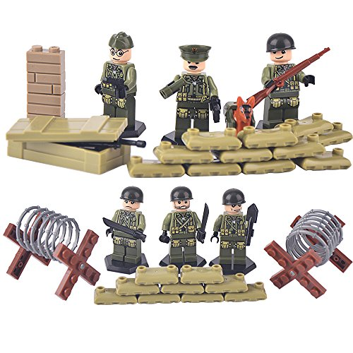 susengo-world-war-ii-set-us-commandos-brothers-team-marine-corps-rpg-battlefield-minifigures-buildin