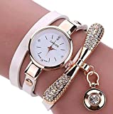 XBY.mi 1PCS Fashion Fashion Damen Thin Band Wrap Armbanduhr