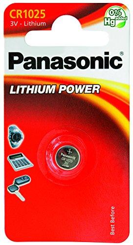 Panasonic 1850 Lithium Knopfzellen Batterie CR 1025