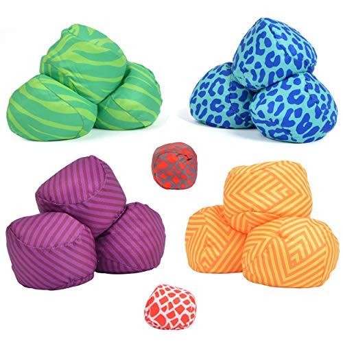 Ocean 5 Extrem Boule - 2er Set Family Pack, Soft-Boule Set, Street-Boccia, Cross Petanque mit Tasche, Outdoor Spielen