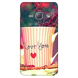 Mobo Monkey Designer Printed Back Case Cover for Samsung Galaxy On5 (2015) :: Samsung Galaxy On 5 G500Fy (2015) (Cute :: Kawaii :: Sologan :: Love :: Cup)