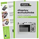 dipos Fujifilm X-A2 Schutzfolie (6 Stück) - Antireflex Premium Folie matt