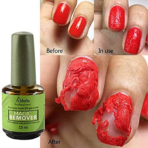 15 ml Magic Soak Off Gel Removedor Esmalte uñas