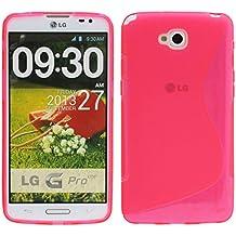S Line TPU–Carcasa para LG G Pro Lite D682Carcasa de silicona en rosa @ Energmix