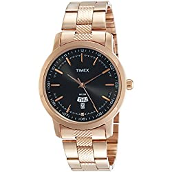 Timex Analog Black Dial Men's Watch-TW000G914