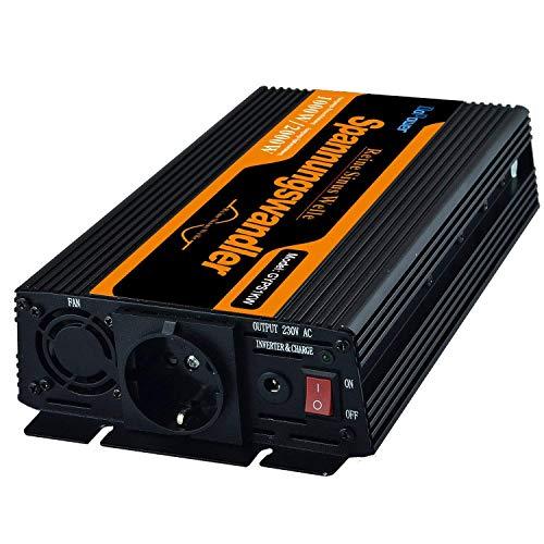 inversor de corriente 1000 2000w convertidor de voltaje de 12v 220v onda...
