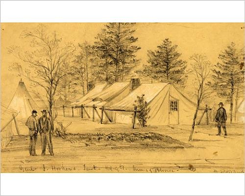photographic-print-of-genl-j-hooker-s-tent-hdqts-army-of-potomac-1863-ca