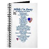 CafePress–Military Love Gedicht–Spiralbindung Journal Notizbuch, persönliches Tagebuch, liniert