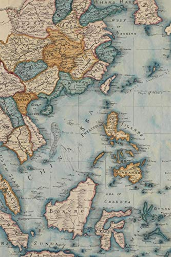 1809 map of the East Indies and China from the best authorities: A Poetose Notebook (100 pages/50 sheets) (Poetose Notebooks)