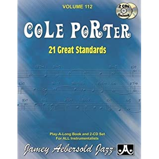 Volume 112: Cole Porter - 21 Great American Standards (Jamey Aebersold Play-A-Long Series)