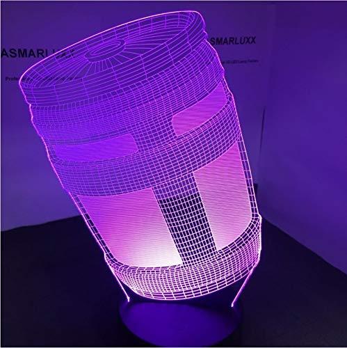 3D Led Nachttischlampen 7 Farben Chug Jug Lampe Usb Nachtlampe Oem Odm Anpassen Mit Allen Formen Dekor Änderungen Lichtshow Geschenk Oem Home-taste