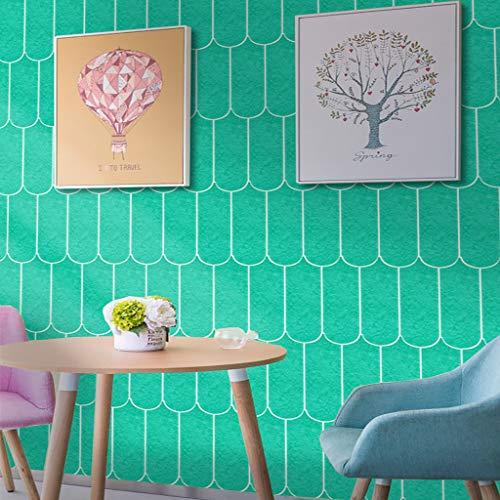 3D Ziegel Fliesen Aufkleber Wandaufkleber Selbstklebende Panel Wand Wasserdichte PE Schaum Wanddekor DIY wandaufkleber Dekoration ABsoar
