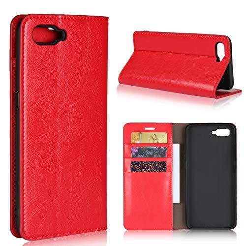 Custodia® Flip Brieftasche Hülle für Oppo RX17 Neo(Muster 3)