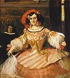 Kunst für Alle Impresión artística/Póster: Joaquin Sorolla Bildnis Der Schauspielerin Maria Guerrero - Impresión, Foto, póster artístico, 90x100 cm