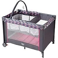 0e536f38218a9d Kinderbett Säuglingsbett Babybett Klappbett Reisebett für Kinder  Kinderreisebett Babywanne Babyeinlage mit bremsbaren Rollen