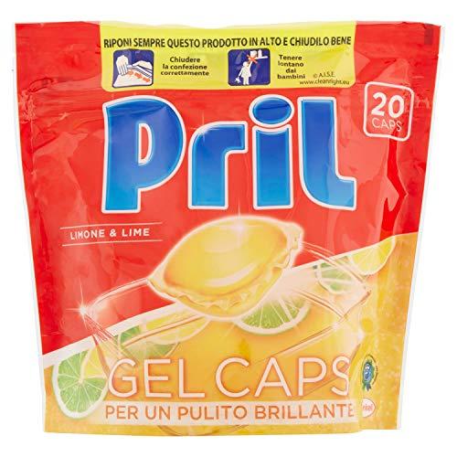 Pril-Gel Caps, Multifunktionsgerät Concentrate für Spülmaschine, 400g