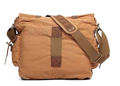sulandy, sacchetto per uomo da portare a spalla (Kaki)