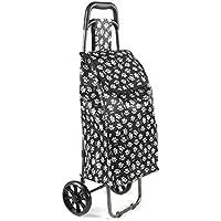 Ulster Weavers Sac chariot de courses pliable économie d'espace en Graphic Design Dentelle 9gpl01 5Gq3GC2Ir2
