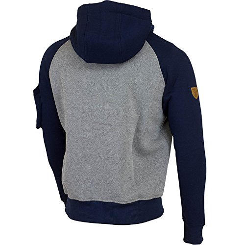 PG Wear Revolt Zip Hoody Grey/Navy