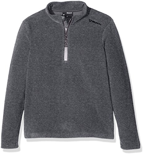 Brunotti Jungen Tenno JR Fleece, Dark Grey Melee, 164