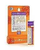 Alteya Organic Balsamo Labbra Protezione Solare – Rose – ampio spettro di SPF15