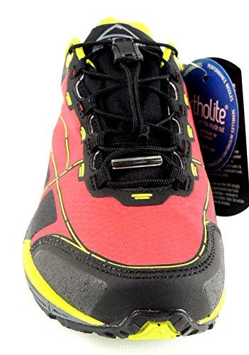 McKinley Chaussures Femme multiled terrasome Aqua Max Rouge/Noir/Vert Citron 232402 ROT/SCHWARZ/LIME