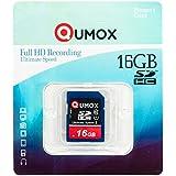 QUMOX 16GB Go SDHC MEMORY CARD carte mémoire CLASS 10 UHS-I Grade 1