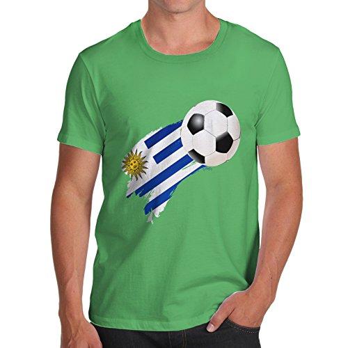 TWISTED ENVY  Herren T-Shirt Grün