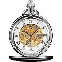 KS KSP007 - Reloj de Bolsillo Unisex Mecánico de Cuerda