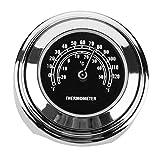 YouN 22/25 mm Soporte de Manillar de Moto Dial Tem Termómetro para Harley (Blanco), Color B, 45.00*45.00*30.00mm