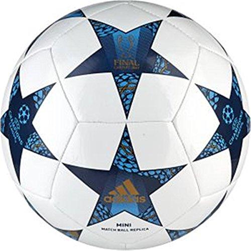 adidas Finale Cdf Mini Balón de Fútbol, Hombre, Blanco (Blanco / Azumis / Turque), 1