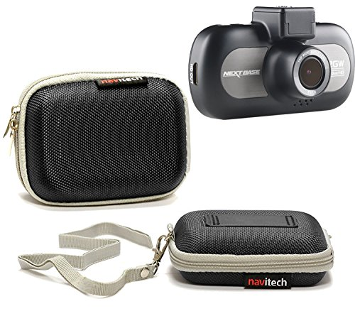 Navitech schwarz harter fall für die icamecho Dash Camera Camecho 1080P Dual Lens 170° Wide View 4 Inch Vehicle Recorder