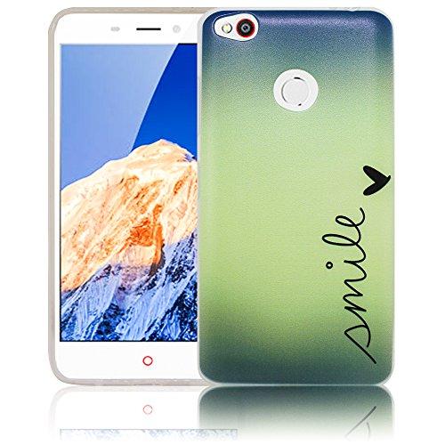 ZTE Nubia N1 Smile Silikon Schutz-Hülle weiche Tasche Cover Case Bumper Etui Flip smartphone handy backcover Schutzhülle Handyhülle thematys®