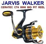 Jarvis Walker - Ceratec ct4 8000 - 5 Lager- rostfrei schaft - anti reverse - spinnen/angelrolle