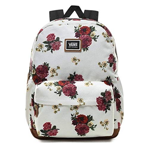 mochila vans de flores