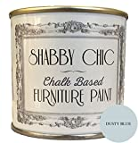 Best Indoor Paints - Dusty Blue Chalk Based Furniture Paint great Review