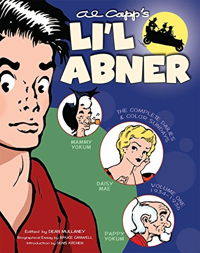 Li'l Abner: The Complete Dailies and Color Sundays, Vol. 1: 1934-1936 por Al Capp