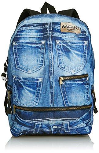 Mojo ,  Unisex-Erwachsene Rucksack, Blau - blau - Größe: One size