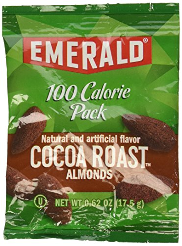 100 Calorie Pack Dark Chocolate Cocoa Roast Almonds, .63 oz Packs, 7 Packs/Box, Sold as 1 Box