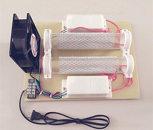 Rauch-maschinen (Ozonizer Luftreiniger Ozon Generator 15000mg/hr Ozon Oxidant Desinfektion Maschine Luftfrischer Bakterien Schimmel Formaldehyd Rauch Bereinigung geeignet für 120㎡ Raum)