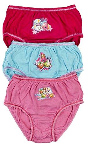 Shopkins Girls Briefs (Pack of 3)