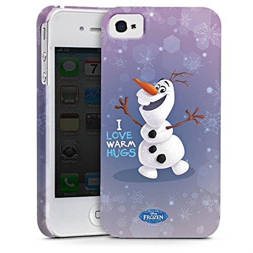 Apple iPhone X Silikon Hülle Case Schutzhülle Disney Frozen Olaf Geschenke Fanartikel Premium Case glänzend
