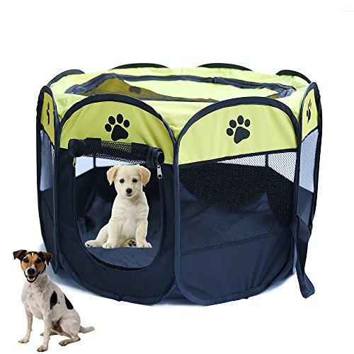 youjia-box-per-cagnolini-recinzione-da-cuccioli-e-piccoli-animali-recinzioni-mobili-per-animali-gial