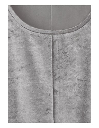 Street One Damen T-Shirt Grau (Lunar Grey 10821)