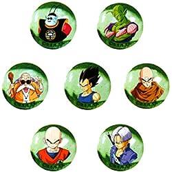 7 Canicas medianas Amigos de Goku