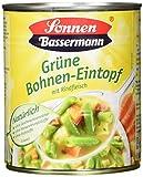 Sonnen Bassermann Grüne Bohnentopf, 6er Pack (6 x 800 g)