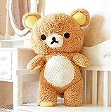 Riesen Rilakkuma Bär Spielzeug Lebensgroße Relax Bär Kissen Puppen Weiche Kuscheltiere Kinderzimmer Dekoration 55 cm
